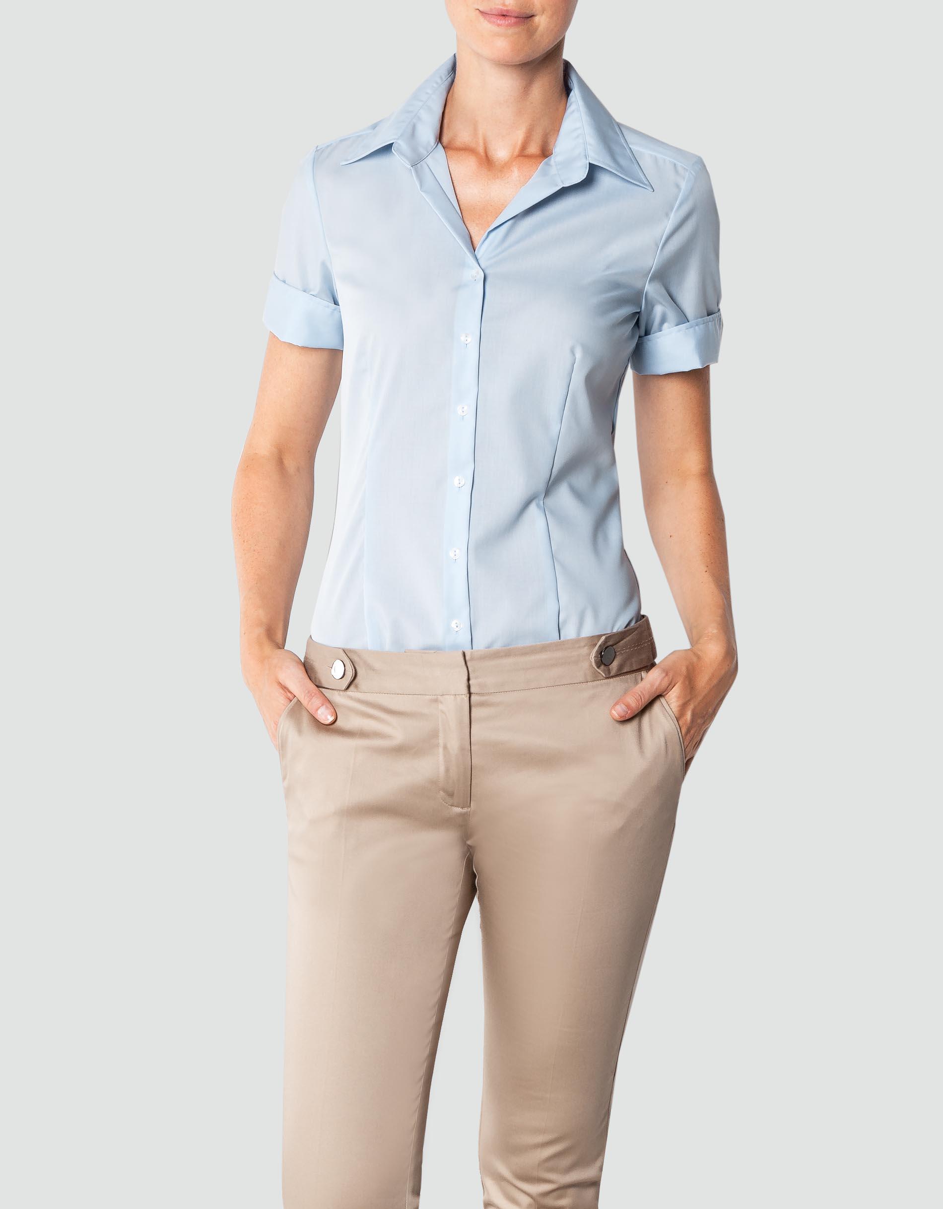 a2c370dd4dbc Seidensticker Damen Bluse Modern mit kurzem Arm empfohlen von Deinen  Schwestern