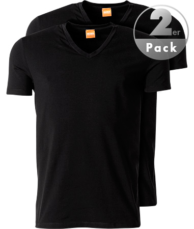 BOSS Orange 2er Pack V-Shirt Tyll 50252683/001
