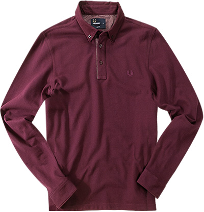 Fred Perry Polo-Shirt brombeere M1363/799