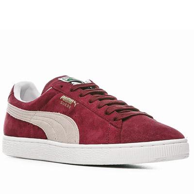 Puma Suede Classic Eco Schwarz Rot