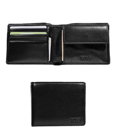 HUGO BOSS Wallet Asolo schwarz 50250331/001