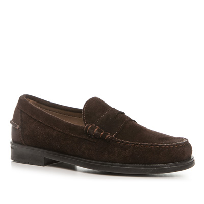 SEBAGO Grant chocolate brown suede B707000