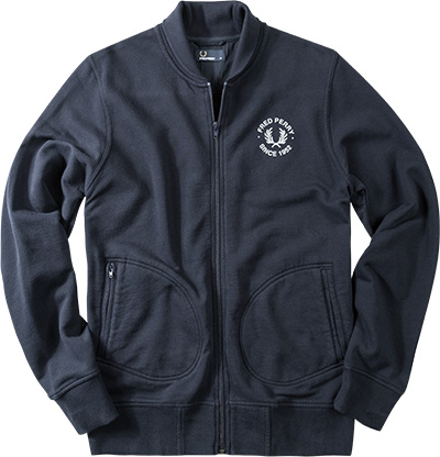 Fred Perry Sweatjacke marineblau J3394/608
