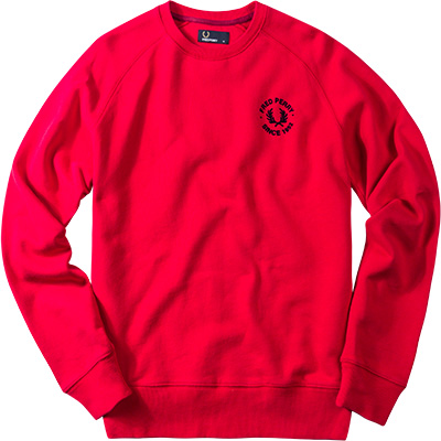 Fred Perry Sweatshirt rot M3384/943