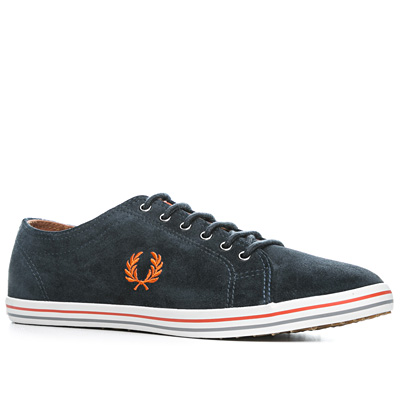 Fred Perry Kingston Suede marineblau B3128/608