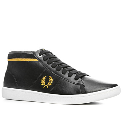 Fred Perry Cradock Leather schwarz B3204/102