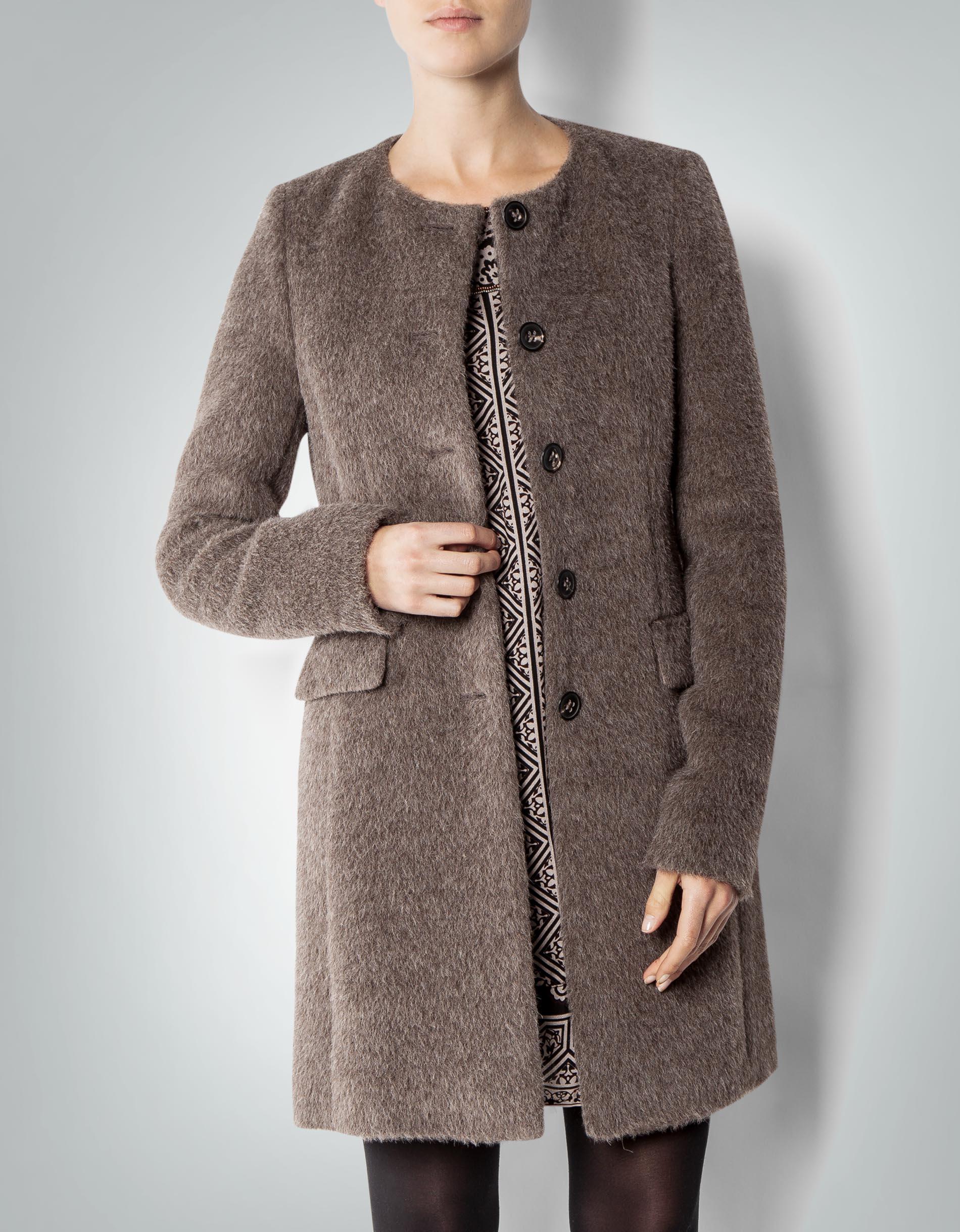 daniel hechter damen mantel beige in fell optik empfohlen. Black Bedroom Furniture Sets. Home Design Ideas