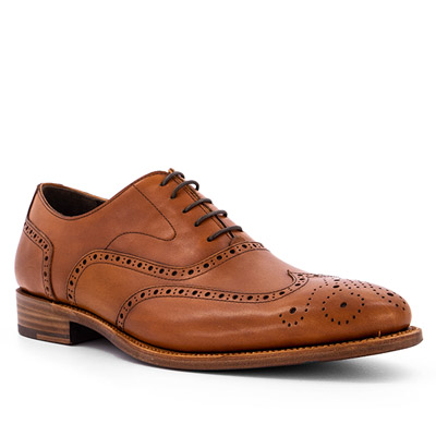 Prime Shoes Oxford crust cognac