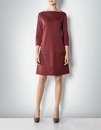 CINQUE Damen Kleid Ciindigo bordeaux mit Paspeltaschen empfohlen von ...