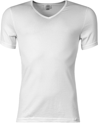 Jockey V-Neck Shirt weiß 24001813/100