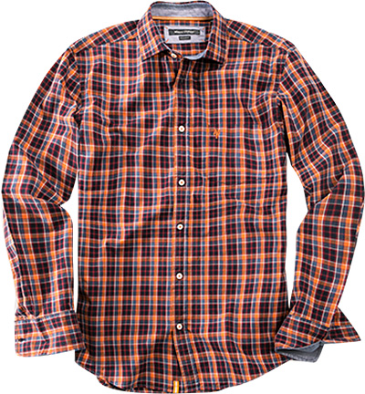 Marc O'Polo Hemd orange-rot 29/1708/42098/271