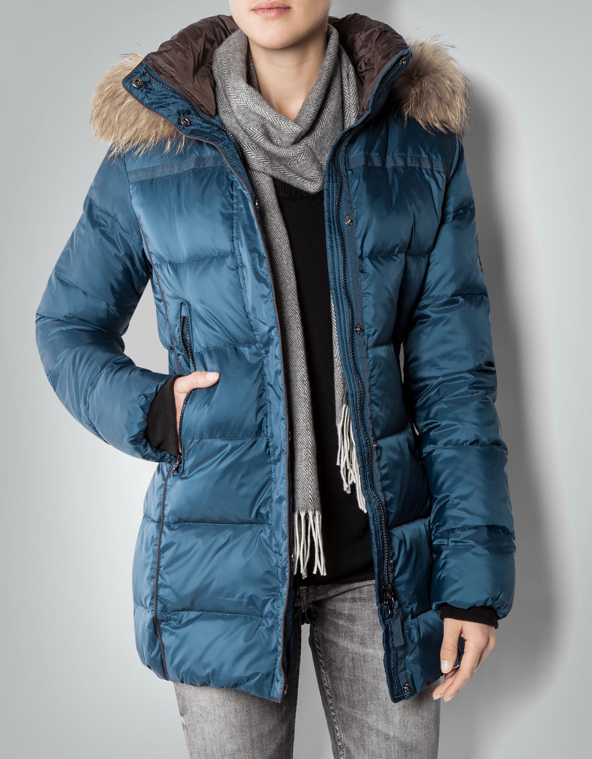 marktfähig mehrere farben süß billig CINQUE Damen Jacke Cinobu Parka mit Daunen-Füllung empfohlen ...
