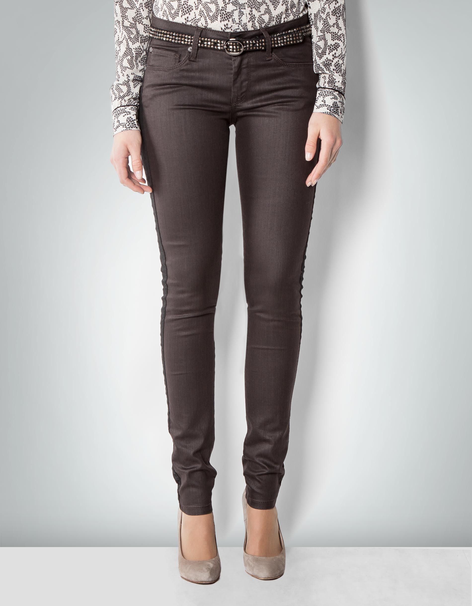 Finden Sie den niedrigsten Preis absolut stilvoll beliebte Geschäfte Pepe Jeans Damen Cher DLX Hose in Slim Fit mit Galonstreifen ...