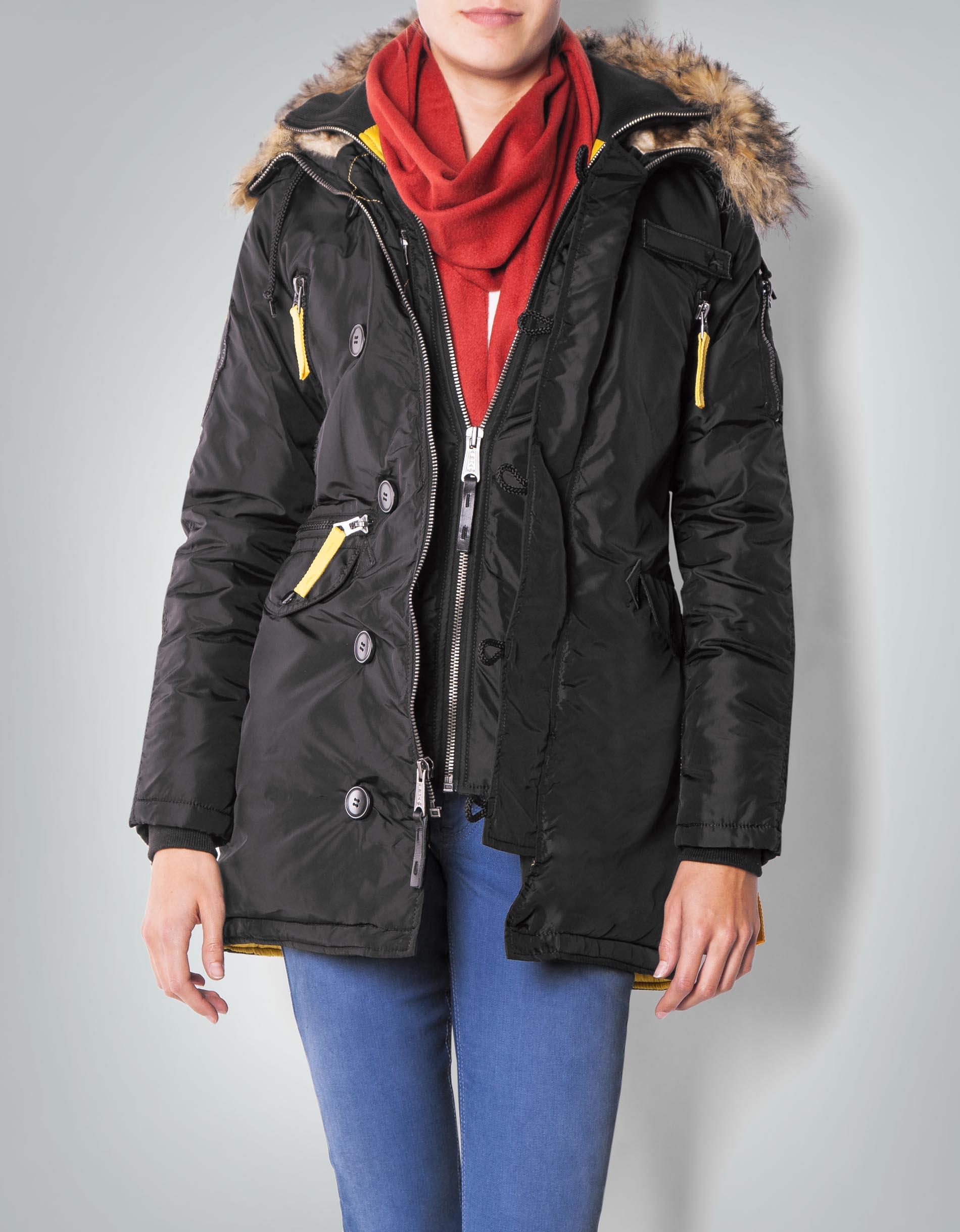 cheap for discount 6d9ee 6d5a6 ALPHA INDUSTRIES Damen Jacke im sportiven Winter-Look ...