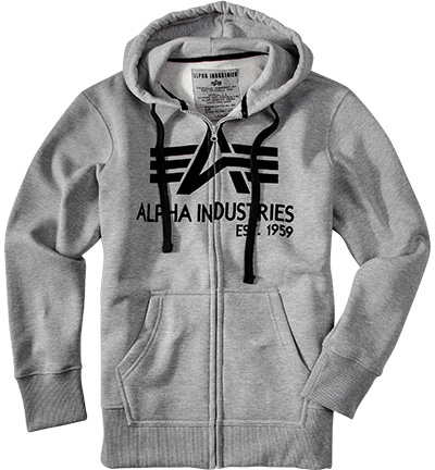 ALPHA INDUSTRIES Sweatjacke 103307/17