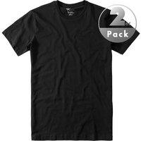 Venti RH-Shirt 2er Pack schwarz