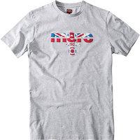 Merc T-Shirt Broadwell hellgrau
