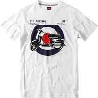 Merc T-Shirt Costello weiß