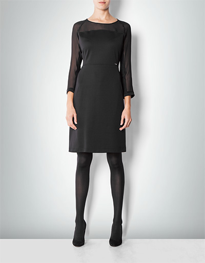 Damen Kleid Cidasha schwarz 1817/6208/99