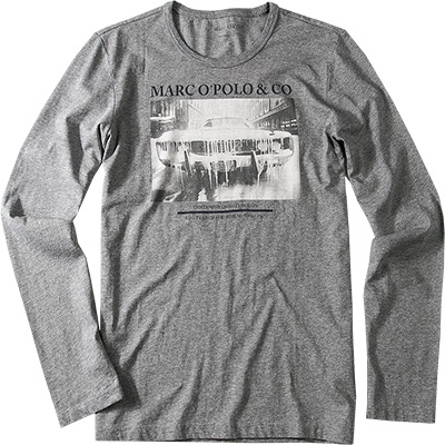 Marc O'Polo T-Shirt dunkelgrau 330/2066/52362/952