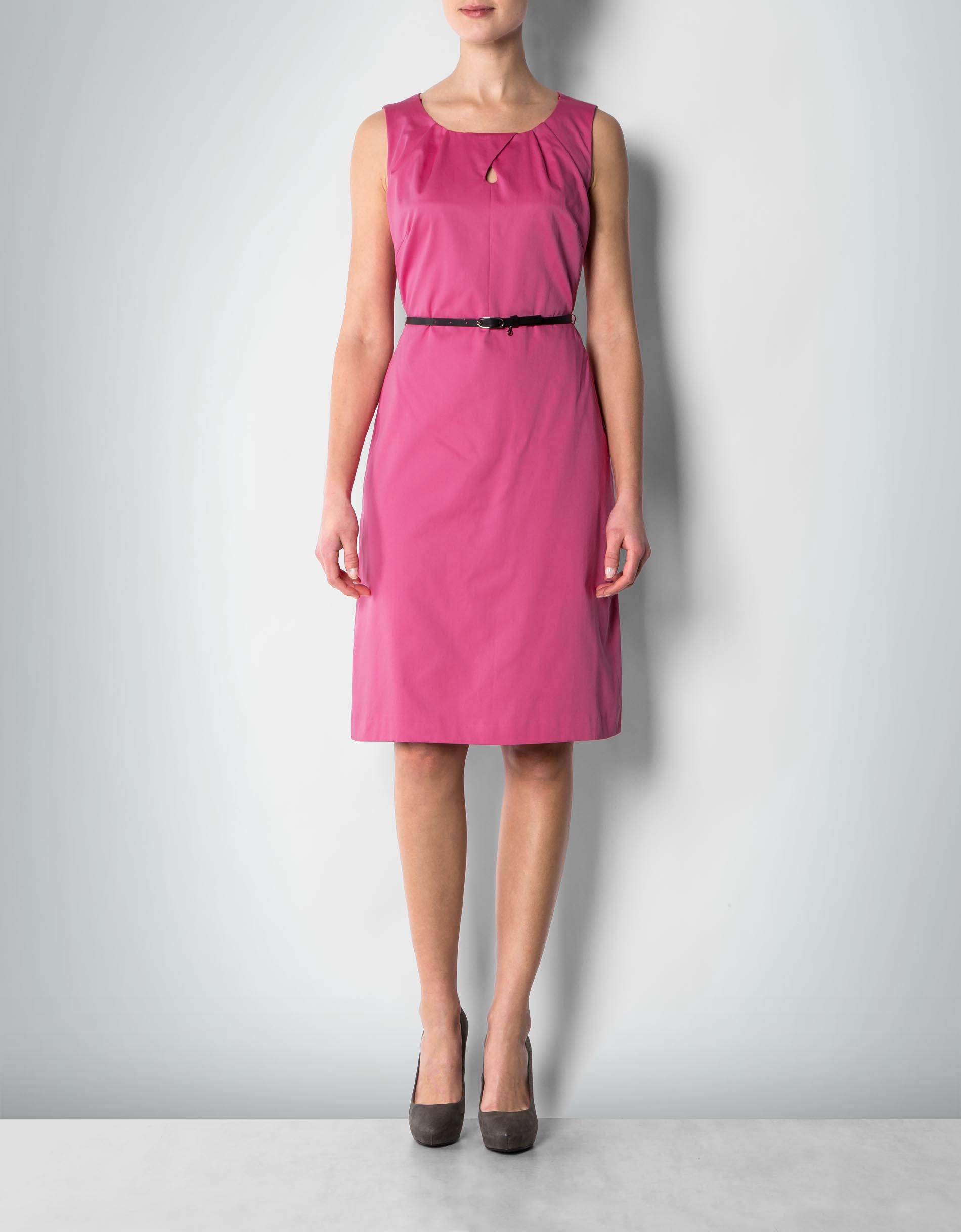 daniel hechter damen kleid pink etui in mattem glanz. Black Bedroom Furniture Sets. Home Design Ideas