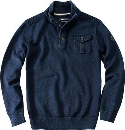 Marc O'Polo Troyer saphirblau 421/5062/60172/894