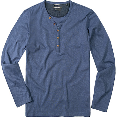 Marc O'Polo T-Shirt jeansblau 421/2026/52050/866
