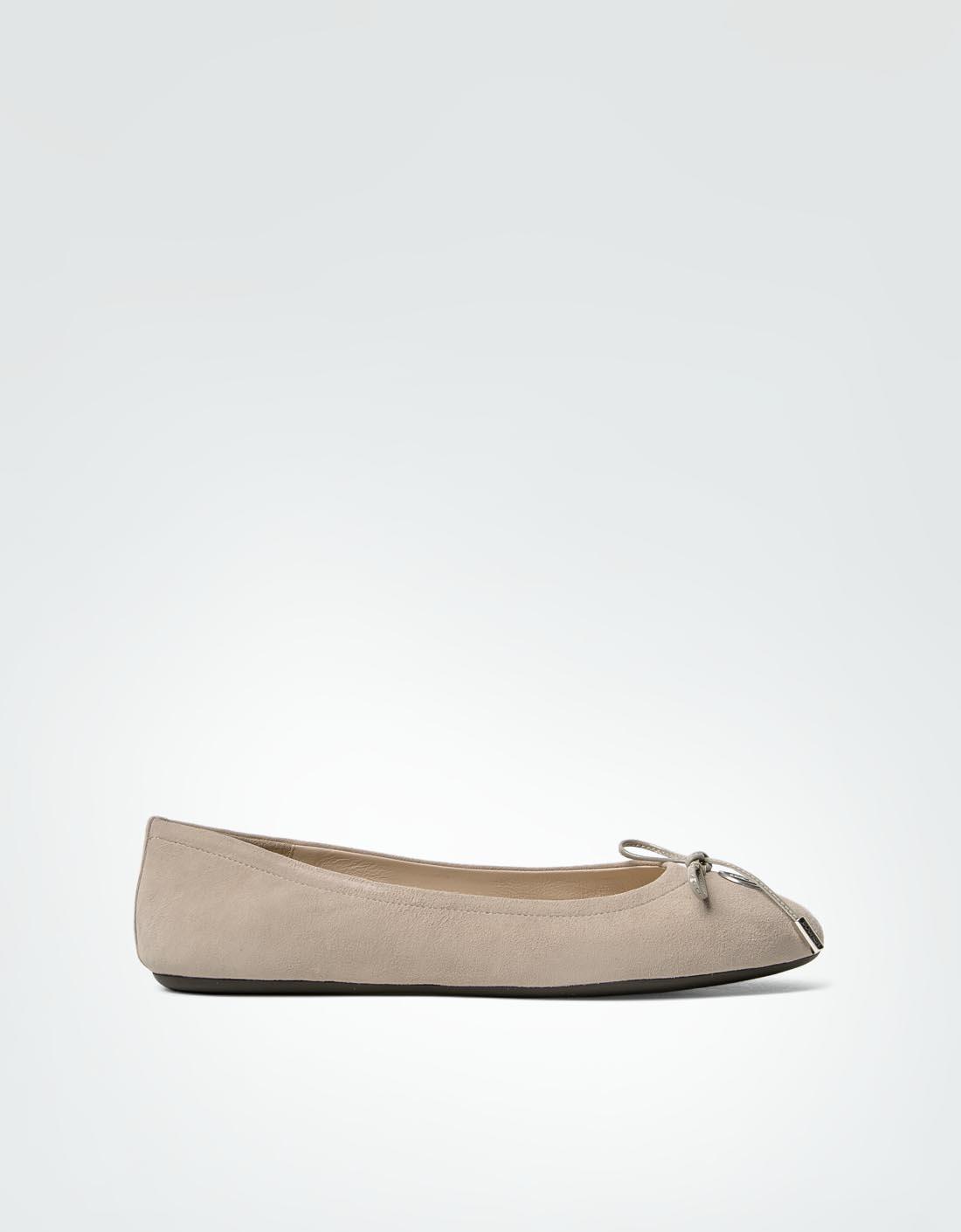 Bogner Damen Schuhe Ballerina aus Veloursleder beige MZ3sa