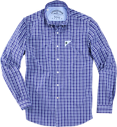 Barbour Hemd Gingham MSH3119BL37