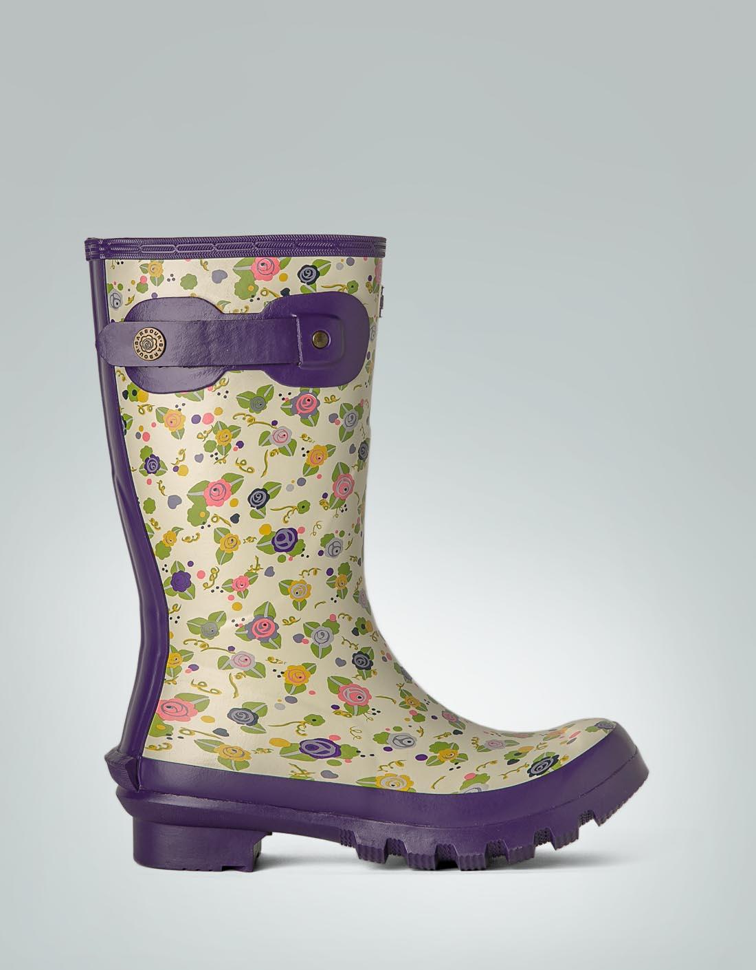 hot sale online 54957 8aa6a Barbour Damen Gummistiefel mit Blumen-Print empfohlen von ...