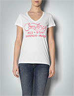 Converse Damen T-Shirt weiß 06943C/110