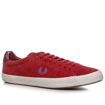Fred Perry Howells Suede erdbeerrot B4211/696