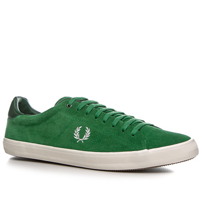 Fred Perry Howells Suede grün B4211/330