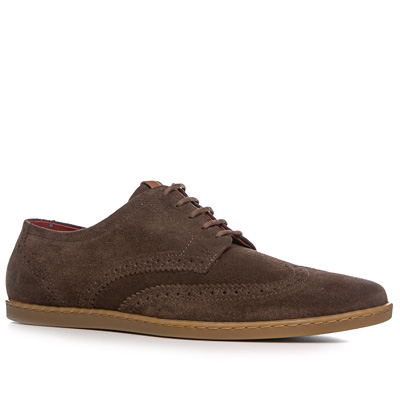 Fred Perry Jacobs Suede kaffeebraun B4240/325