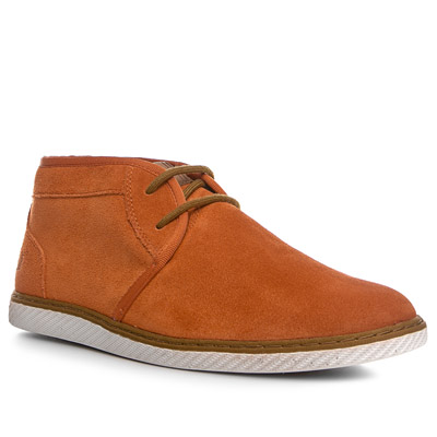 Fred Perry Claxton Mid Suede orange B4257/324