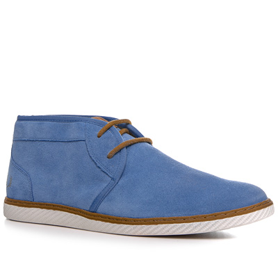 Fred Perry Claxton Mid Suede capriblau B4257/379