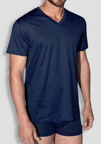 Zegna Filo die Scozia V-Shirt