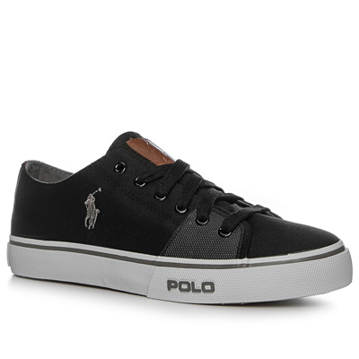 schuhe sneaker canvas schwarz von polo ralph lauren bei. Black Bedroom Furniture Sets. Home Design Ideas