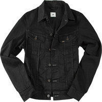 Lee Jeansjacke clean black
