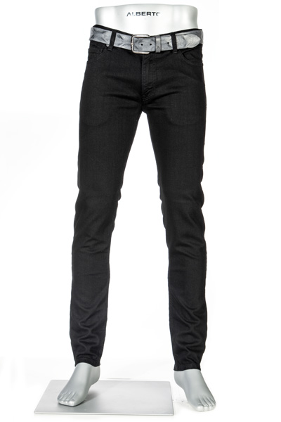 Alberto Slim Fit T400 schwarz Slim 42371471/999
