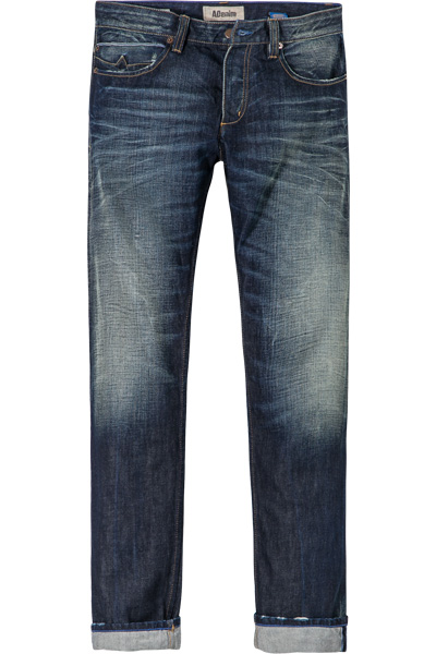ADenim Blue Selvedge dunkelblau 8535/Adam/890