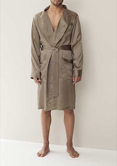 Zimmerli ZN Silk Nightwear Robe ZN/36