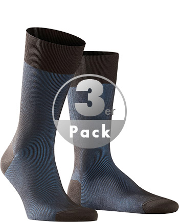 Falke Fine Shadow Socken 3er-Pack 13141/5933 (Dia 1/1)