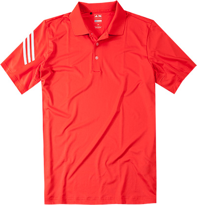 adidas Golf ClimaLite Polo orange Z85239