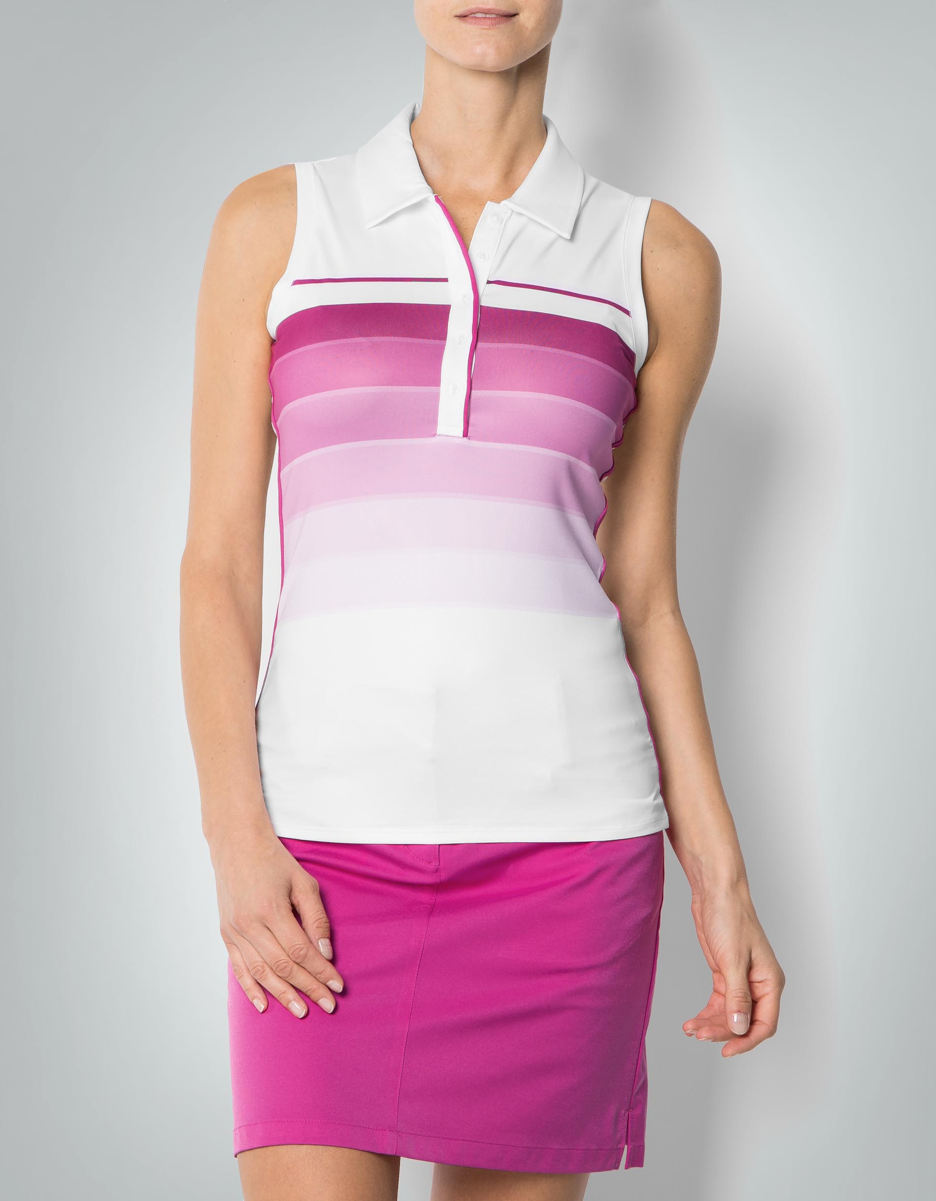 adidas golf damen climalite polo pink shirt aus funktions. Black Bedroom Furniture Sets. Home Design Ideas