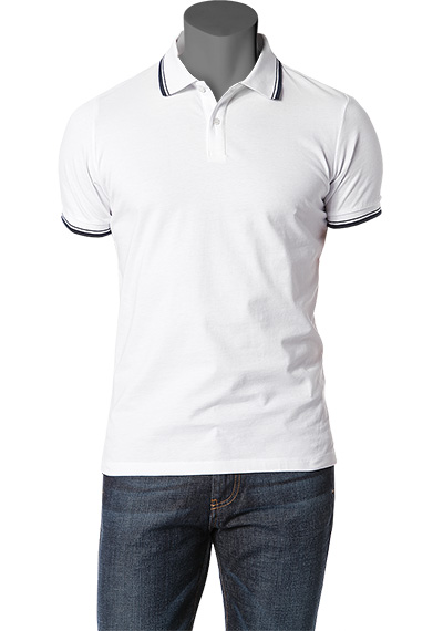 LAGERFELD Polo-Shirt wei� 62284/537/01