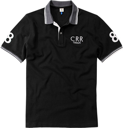 18CRR81 CERRUTI Polo-Shirt 8318350/84424/999