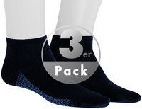 Hudson Dry Cotton Sneaker 3er Pack