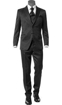 Wilvorst Anzug schwarz