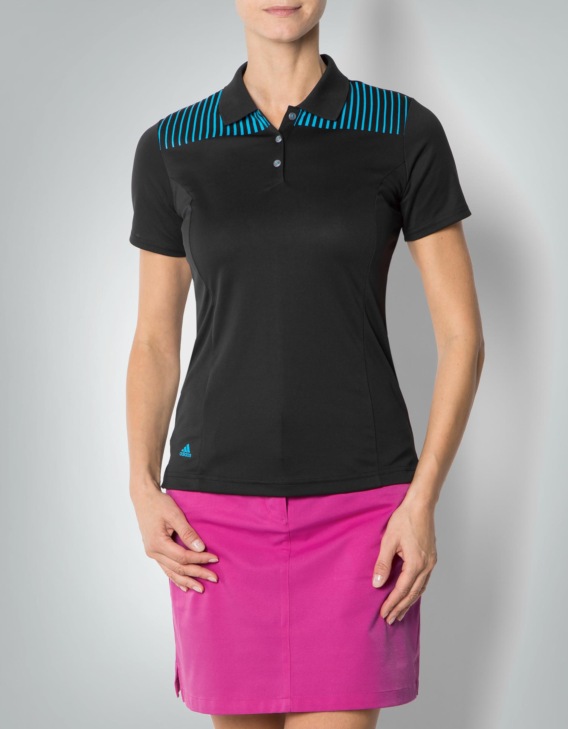 adidas golf damen clima chill polo shirt mit funktions. Black Bedroom Furniture Sets. Home Design Ideas